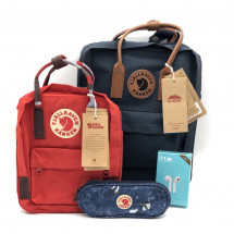 Комплект Fjallraven №2: No2 + Mini + Pen case + наушники