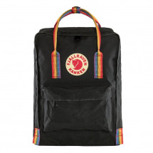 "Fjallraven Kanken Laptop 15"" Rainbow Black"